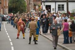 Danse de klaxon de Bromley d'abbés Images libres de droits