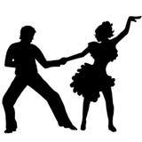 Danse de latino de paires Images stock