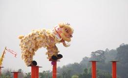 Danse de lion Image libre de droits
