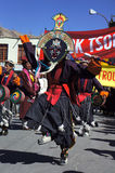 Danse de masque Photo stock