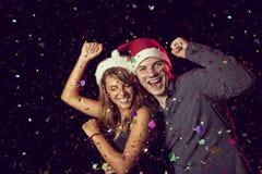 Danse de minuit Photo libre de droits
