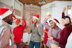 Danse de Noël Images libres de droits