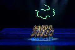 Danse de Nocturne-gens de clair de lune Images libres de droits
