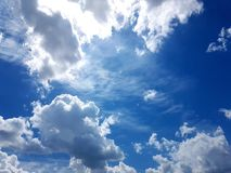 danse de nuage photos libres de droits