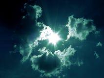 Danse de nuages photographie stock libre de droits