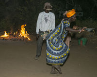 Danse de nuit Photographie stock libre de droits