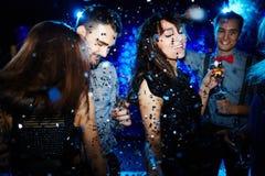 Danse de nuit Image stock