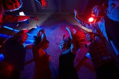 Danse de nuit Photos libres de droits