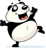 Danse de panda Illustration Stock