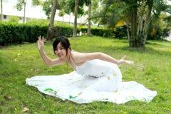 Danse de paon Photo libre de droits
