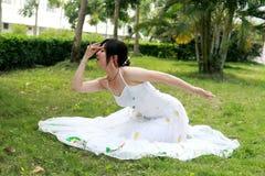 Danse de paon Images libres de droits