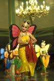 Danse de papillon Photographie stock libre de droits