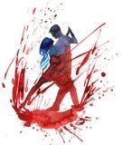 Danse de passion Image libre de droits