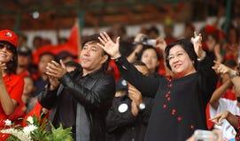 Danse de Presiden Photos libres de droits