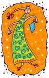 Danse de princesse Images libres de droits