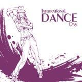 Danse de rue de jour de danse Photographie stock