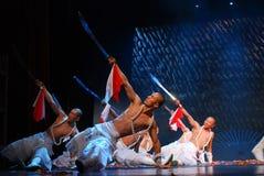 Danse de sabre à Xiamen Photo stock
