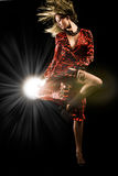 Danse de studio photos libres de droits