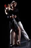 Danse de tango photographie stock libre de droits