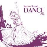 Danse de ventre de jour de danse Photographie stock libre de droits