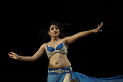 Danse de ventre par Payal Gupta Images libres de droits