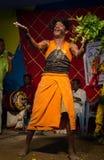 Danse de village Image libre de droits