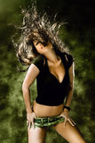 Danse de Wilde Photographie stock libre de droits
