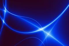 Danse des lumières bleues (02F7b) Photos stock