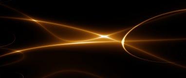 Danse des lumières (fractal_02c) illustration stock