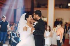 Danse do casamento Imagem de Stock Royalty Free