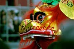 Danse du lion Images libres de droits