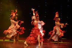 Danse du monde de corrida de chevalerie-Le de l'Autriche espagnole de danse-le Images libres de droits