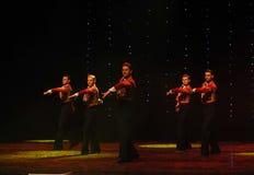 Danse du monde de l'Autriche cavalier-espagnole de flamenco-le de tauromachie Photos stock