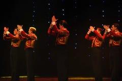 Danse du monde de l'Autriche cavalier-espagnole de flamenco-le de tauromachie Photo libre de droits
