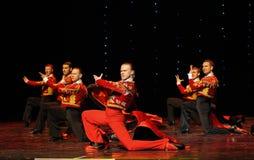 Danse du monde de l'Autriche Chevalier-espagnole belle de flamenco-le Photos stock