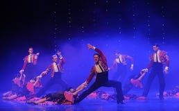 Danse du monde de l'Autriche de flamenco-le de Cloak-Spanish de chevalier Photo libre de droits