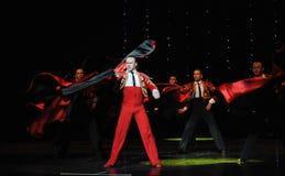 Danse du monde de l'Autriche de flamenco-le de Cloak-Spanish de chevalier Image libre de droits