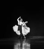Danse du monde de l'Autriche de quickstep-le Images stock