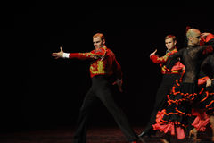 Danse du monde de l'Autriche Matador-espagnole de flamenco-le Photographie stock