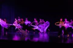 Danse en périodes préoccupées 1--Âne de drame de danse obtenir l'eau photographie stock