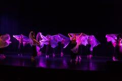 Danse en périodes préoccupées 2--Âne de drame de danse obtenir l'eau photos stock