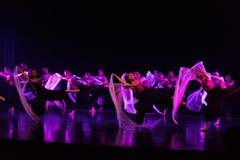 Danse en périodes préoccupées 4--Âne de drame de danse obtenir l'eau image libre de droits