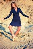 Danse en sable photos libres de droits