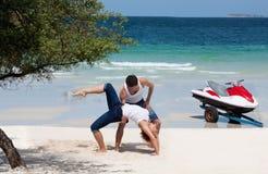 Danse en Thaïlande Photographie stock libre de droits