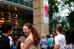 Danse EVANSTON, l'ILLINOIS LE juillet 2012 de Let Photos libres de droits