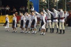 Danse folklorique Image libre de droits