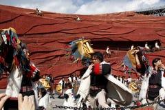 Danse folklorique Photos stock