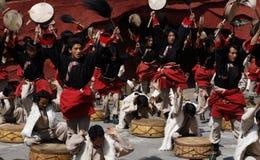 Danse folklorique Photo stock