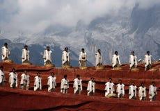 Danse folklorique Photos libres de droits
