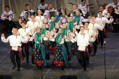 Danse folklorique. Image stock